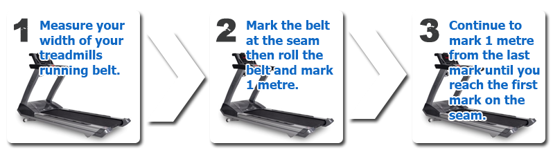 Treadmill Repairs and Servicing - How to Measure your Running Belt - Treadmill Repairs Brisbane - 0458 160 327